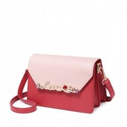 Czerwona dziewczęca torebka na ramię