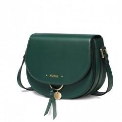 Nowa zielona torba w stylu vintage