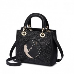 Czarna torebka, do ręki i na ramię