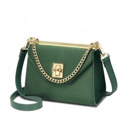 Nowa stylowa torebka damska w kolorze zielonym