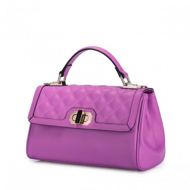 NUCELLE Klasyczna i elegancka damska torebka Różowa