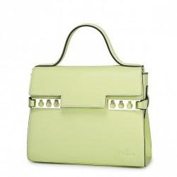 Modna i szykowna damska torebka do ręki Zielona