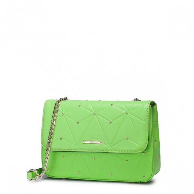 Mini damska listonoszka  Zielona