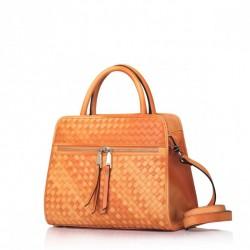 Wyszywana damska torebka Pomarańczowa