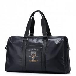 SAMMONS Nylonowa wodoodporna torba podróżna Czarna