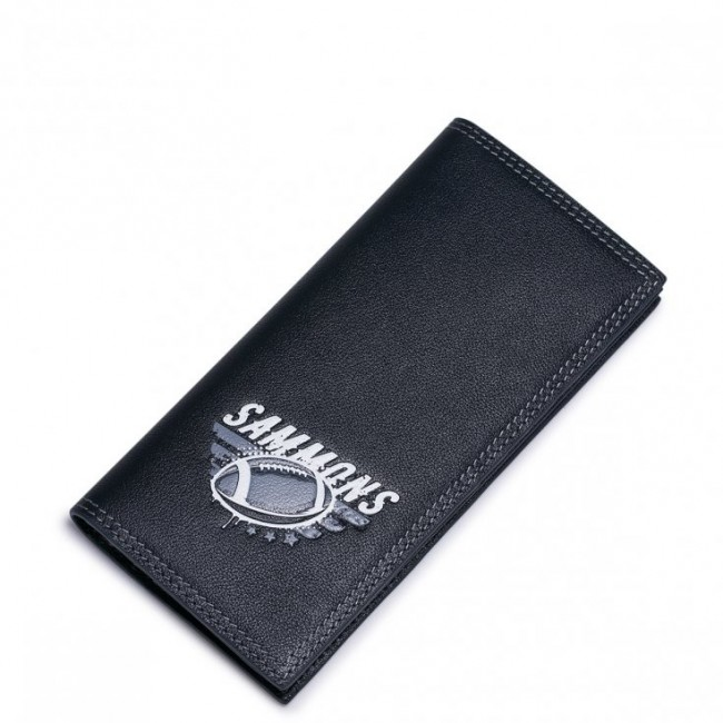 SAMMONS Długi portfel rugbisty Granatowy